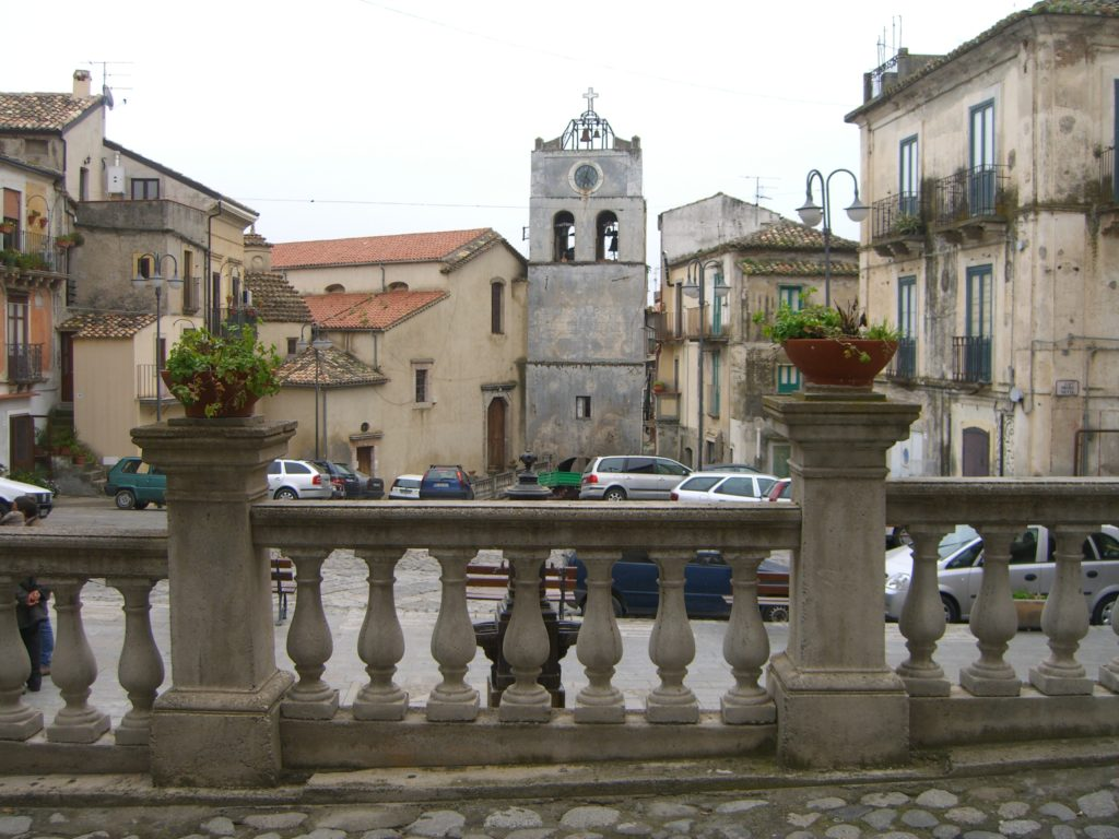 An old historic town, the part where the Saracens could not reach them.