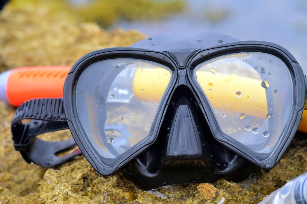 mask for snorkelling