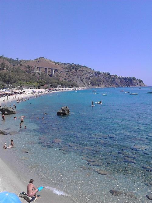 The sea in Caminia