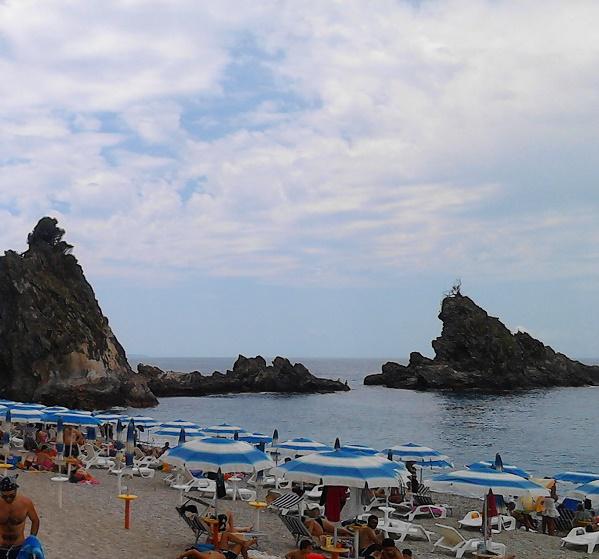 The beach of Palmi