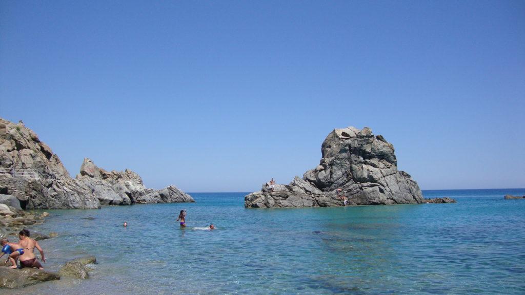 The rock of Pietragrande