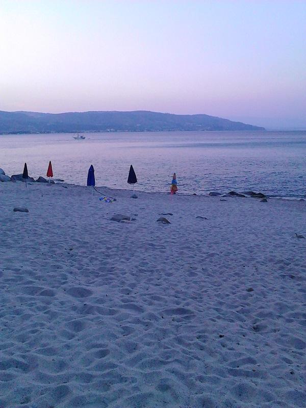 Wide beaches in Calabria