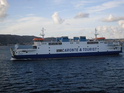 Ferry to Messina Caronte