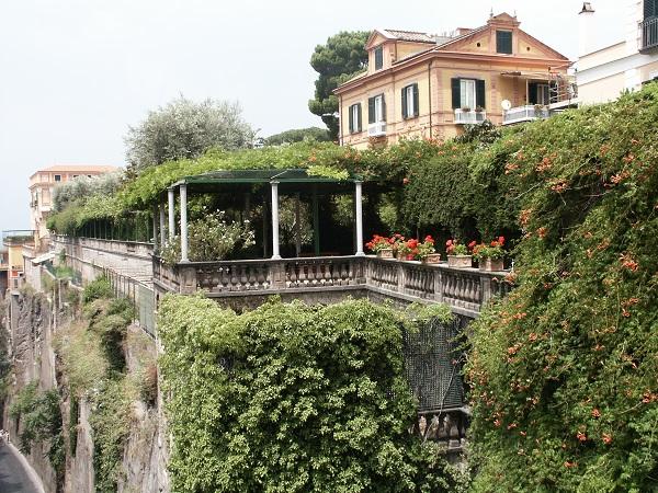 The Hotel Excelsior Vittoria in Sorrento
