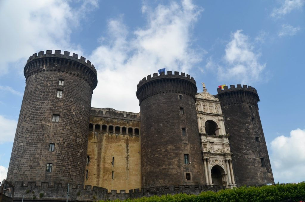 One of the castles in Naples