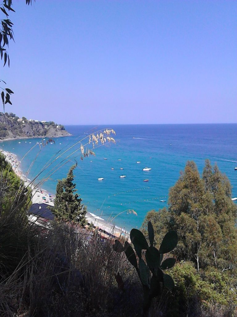 The sea is the most beautiful thing in Calabria