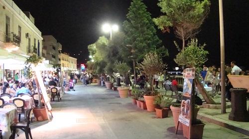 Cefalù at night