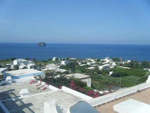 The island of Stromboli