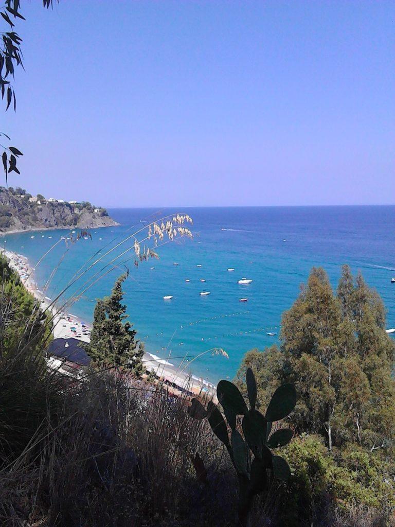 A view of Caminia beach