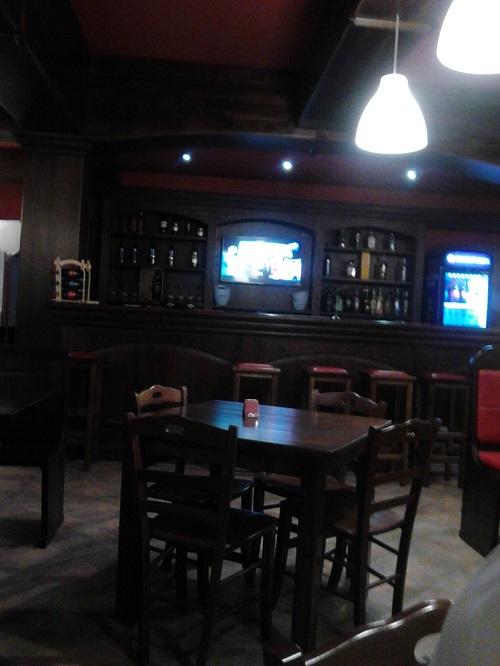 A pub in Calabria