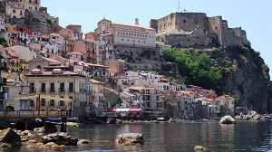 The picturesque fishing village of Scilla