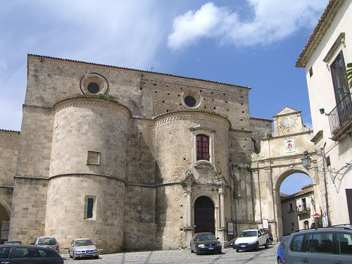 A church in Gerace