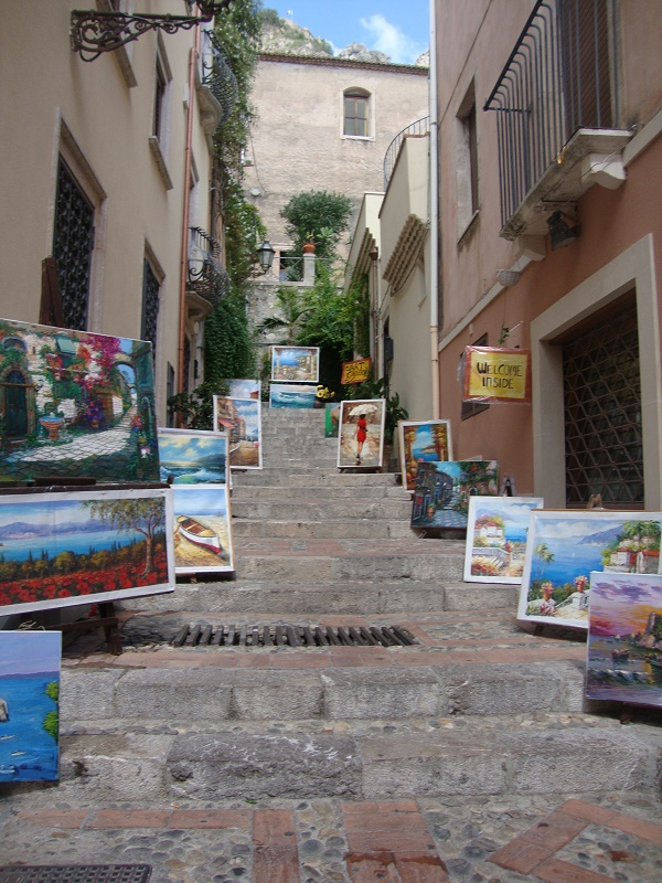 The town of Taormina perfect for studying