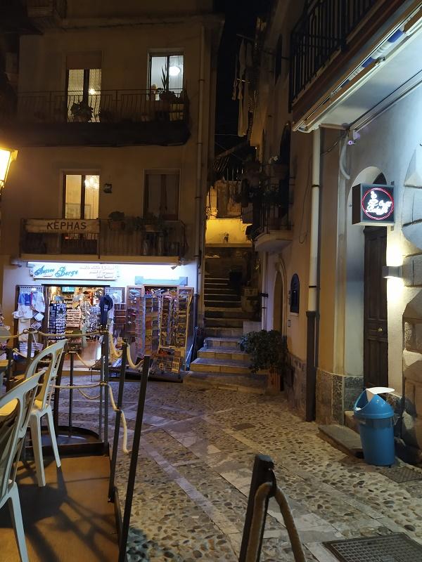 A quiet street in Calabria