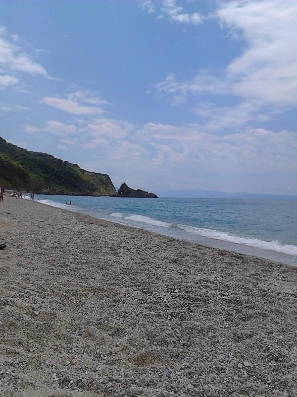 The long beach of Palmi