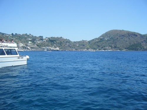 Boat trip to the Aeolian islands