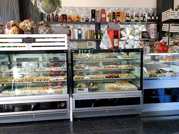 A typical Italian bar