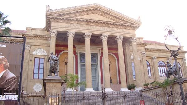 The theatre in Palermo