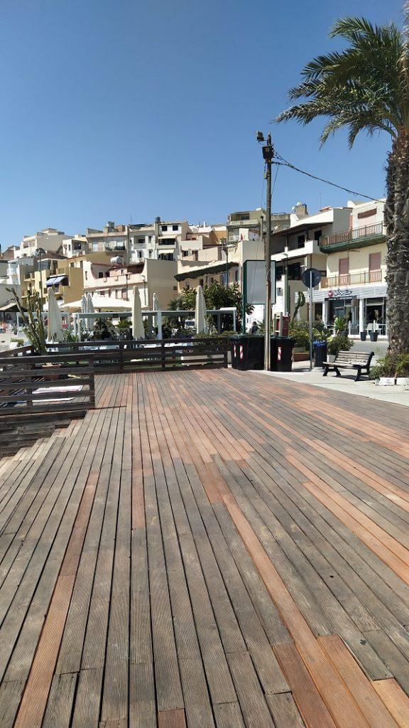 The port area of Marinella di Selinunte