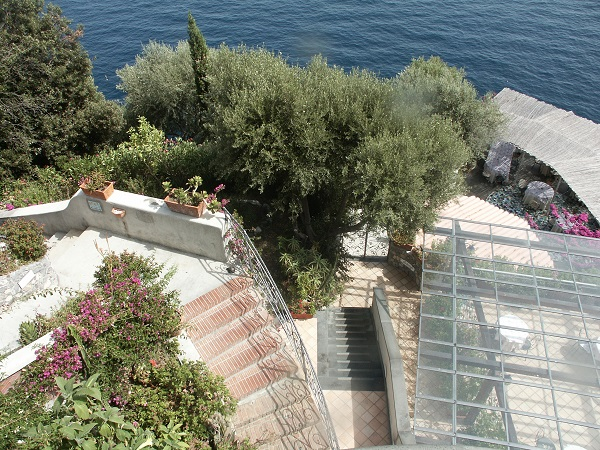 Gardens inside a villa