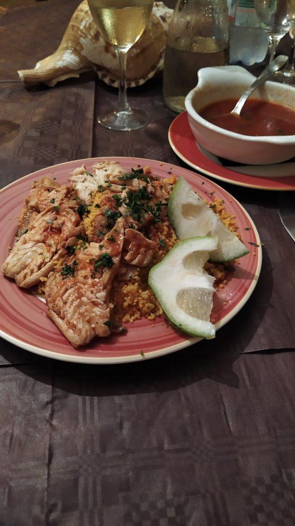 Cous Cous with fish in Mazara del Vallo