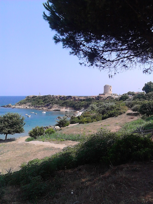 The spectacular vista of Capo Rizzuto