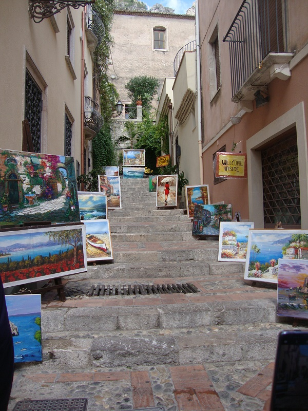 Taormina is an artist's dream and perfect destination for a solo traveller