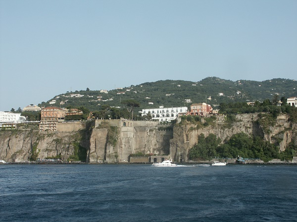 The volcanic town of Sorrento