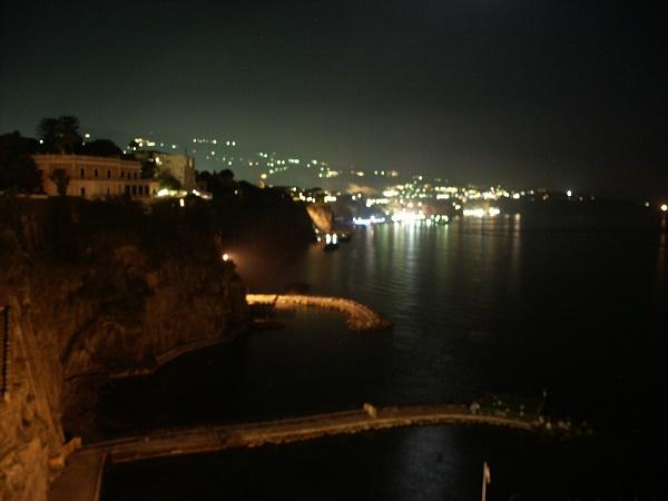 Sorrento at night