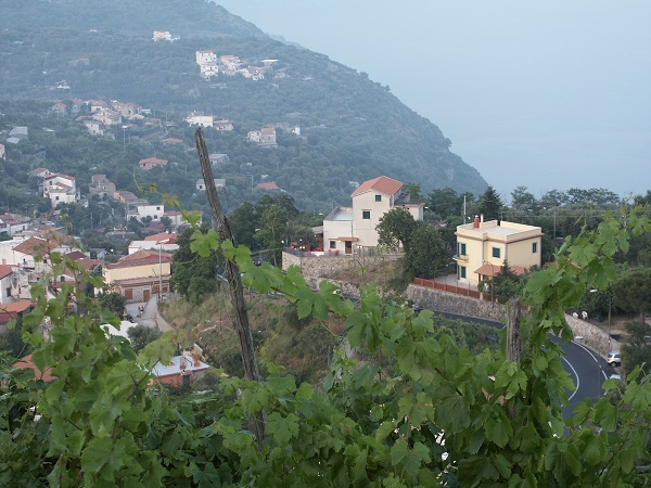 A hill-top town in Sorrento