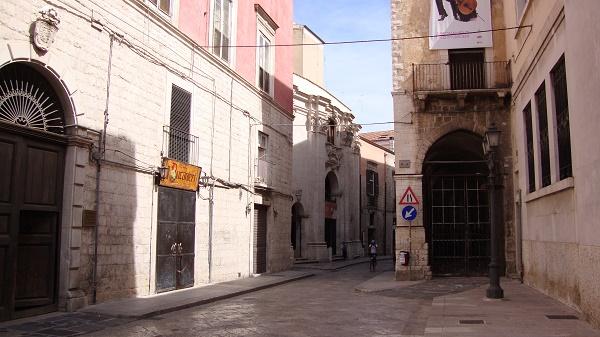 A street in Barletta