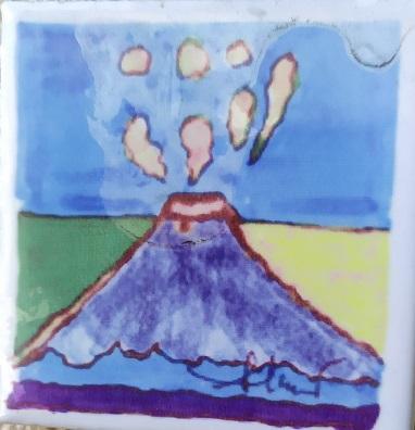 Mount Etna tile