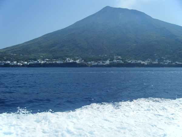 Volcanoes in southern Italy