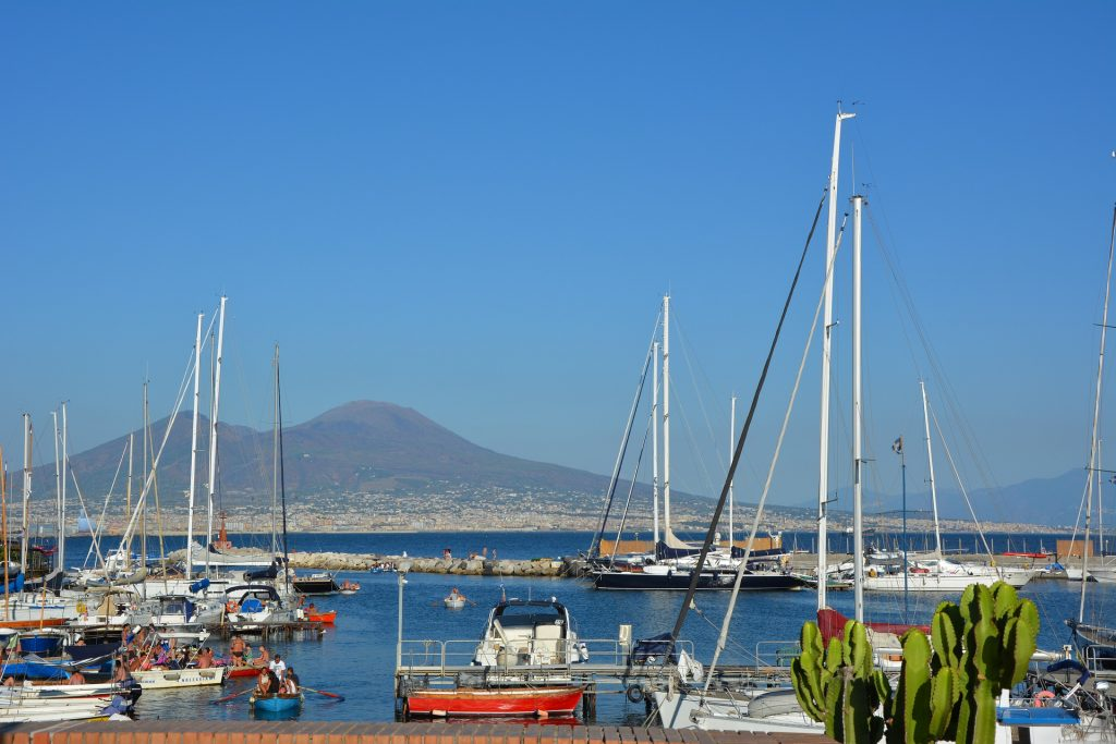 View of Vesuvius from Posillipo