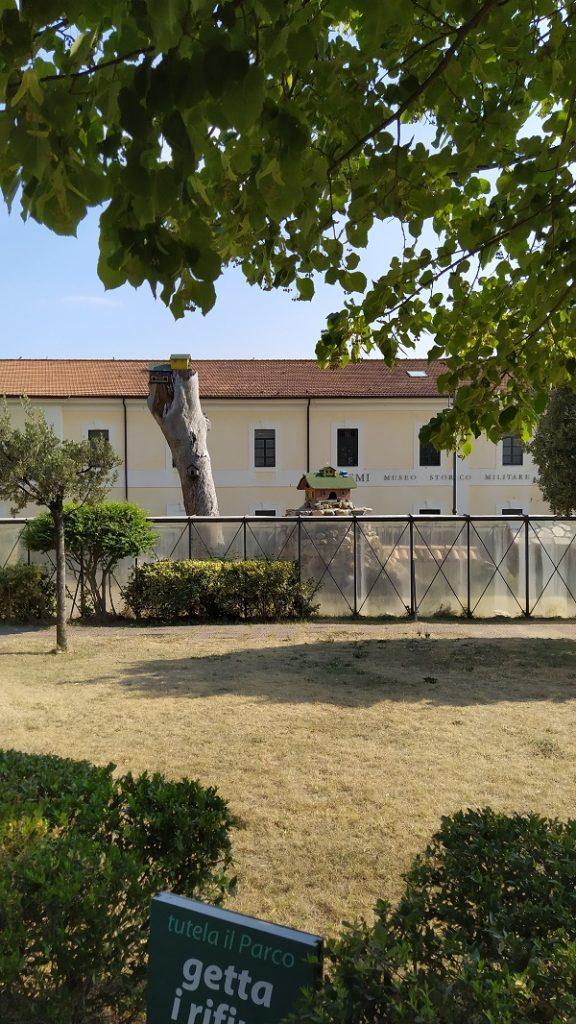 The Military museum in Catanzaro
