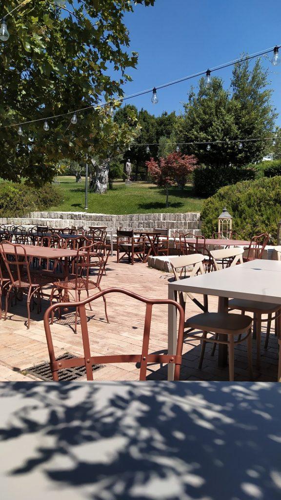 A bar inside the park of Catanzaro
