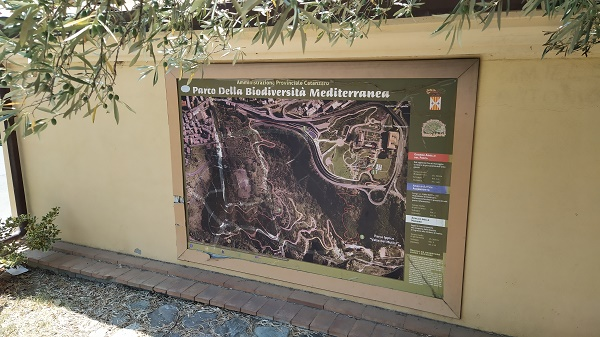 how to get around the biodiversity park in Catanzaro